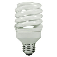 Spiral CFL - 27 Watt - 100W Equal - 2700K Warm White - 82 CRI - 69 Lumens per Watt