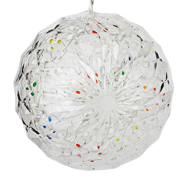 LED - 6 in. dia. Multi-Color Starlight Sphere - Utilizes 20 Mini LED Lights Image