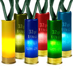 (35) Bulbs - Multi-Color Shotgun Shell Lights Image
