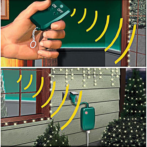 wireless controller for christmas lights image