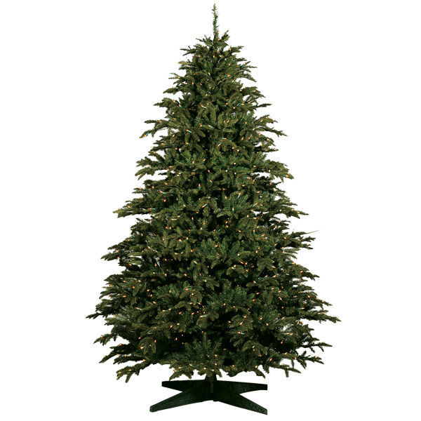 9 Ft X 63 In Alaskan Deluxe Fir Barcana - Artificial Christmas Tree 9 Ft