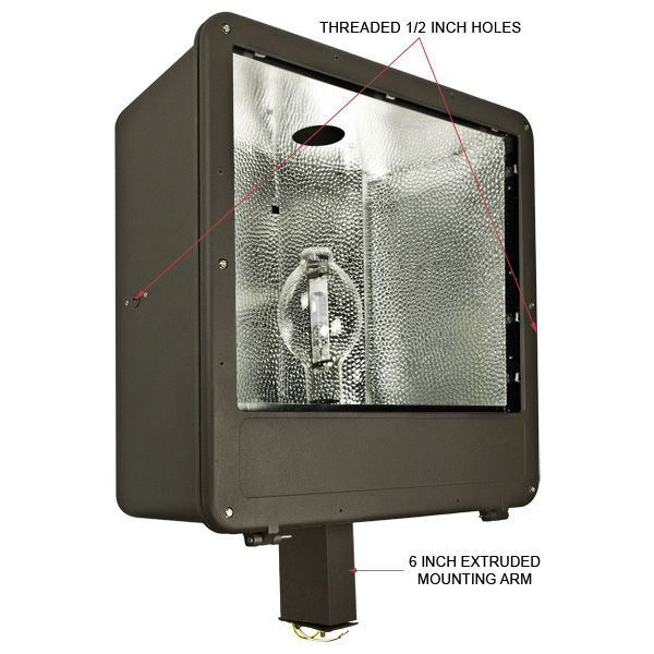 1000 Watt - Metal Halide Flood Light Fixture Image