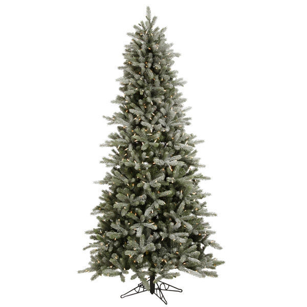 12 ft. x 66 in. Frosted Christmas Tree Image