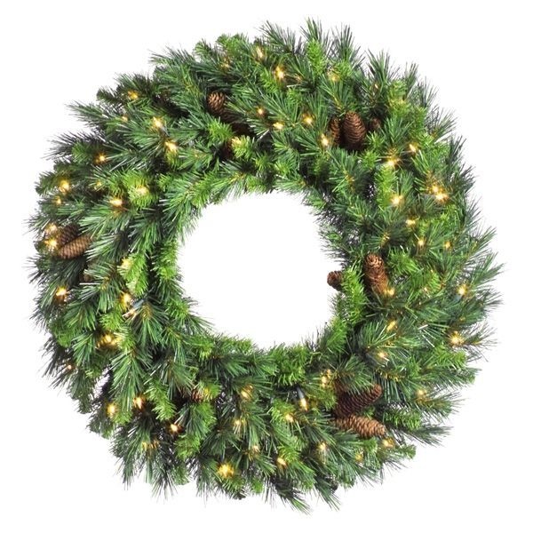 8 ft. Christmas Wreath Image