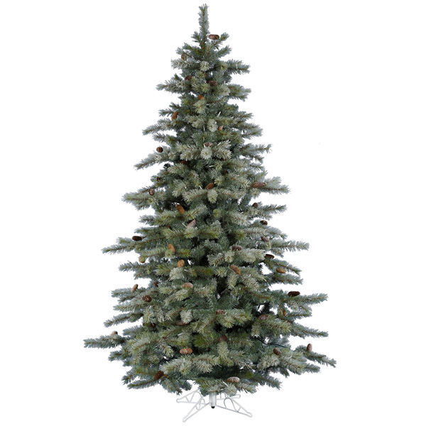 8.5 ft. x 60 in. Frosted Christmas Tree Image