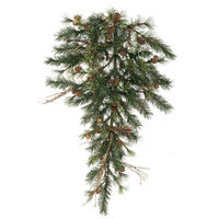 3 ft. Christmas Teardrop - Classic Needles - Mixed Country Pine - Unlit  - Vickerman A801807
