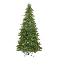12 ft. x 75 in. - Mixed Country Pine - 4012 Classic Tips - 1900 Clear Incandescent Mini Lights - Vickerman Artificial Christmas Tree