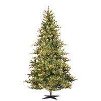 7.5 ft. x 54 in. - Mixed Country Pine - 1320 Classic PVC Tips - 650 Clear Mini Lights - Artificial Christmas Tree  - Vickerman A801671