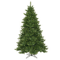 6.5 ft. x 48 in. - Camdon Fir - 1270 Classic Tips - 600 Clear Incandescent Mini Lights - Vickerman Artificial Christmas Tree
