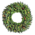 7 ft. Christmas Wreath Image
