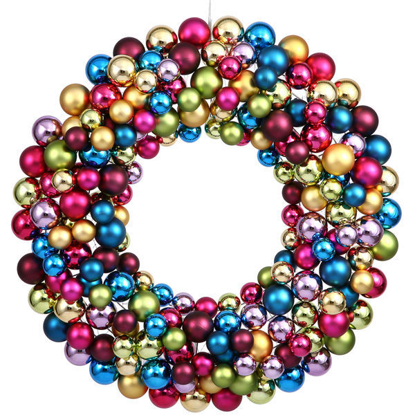 christmas wreath - Christmas Ball Wreath