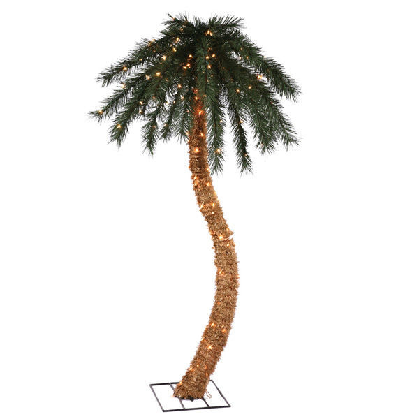6 ft. Artificial Christmas Palm Tree Image