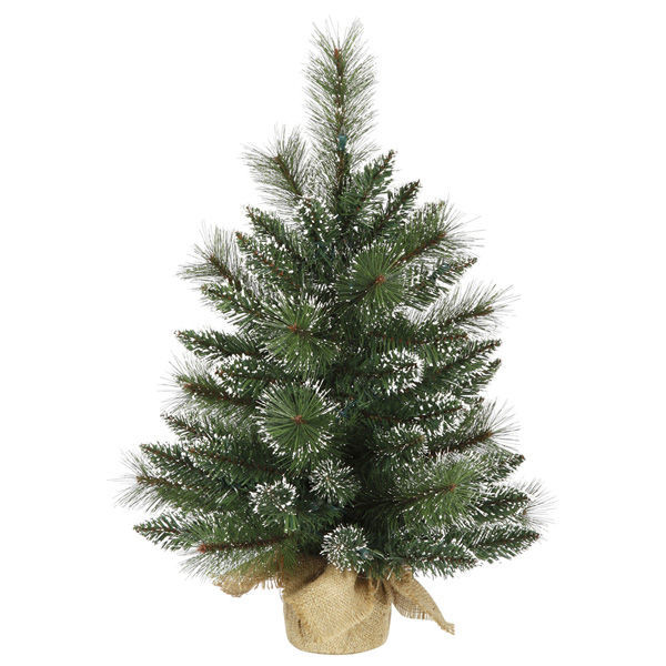 2 ft. x 16 in. Artificial Christmas Tree Image