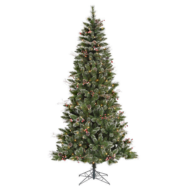 6 ft. x 36 in. Frosted Christmas Tree Image
