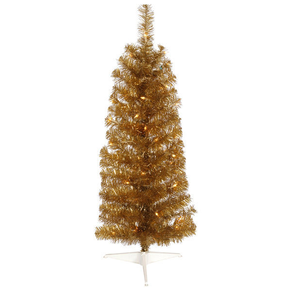 3 ft. x 14 in. Gold Christmas Tree Image
