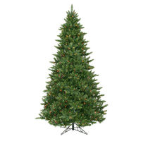 8.5 ft. x 58 in. - Camdon Fir - 2294 Classic Tips - 1050 Multi-Color  Incandescent Mini Lights - Vickerman Artificial Christmas Tree