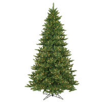 9.5 ft. x 66 in. - Camdon Fir - 3006 Classic Tips - 1350 Clear Incandescent Mini Lights - Vickerman Artificial Christmas Tree