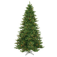 7.5 ft. x 54 in. - Camdon Fir - 1758 Classic Tips - 800 Multi-Color Incandescent Mini Lights - Vickerman Artificial Christmas Tree