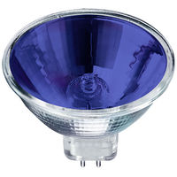 50 Watt - MR16 - Blue - EXN - Flood - 3000 Life Hours - 12 Volt