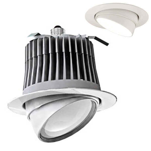 5-6 in. Adjustable Gimbal LED Downlight - 12W Image