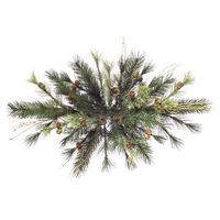 2 ft. Christmas Swag - Classic PVC Needles - Mixed Country Pine - Unlit - Vickerman A801705