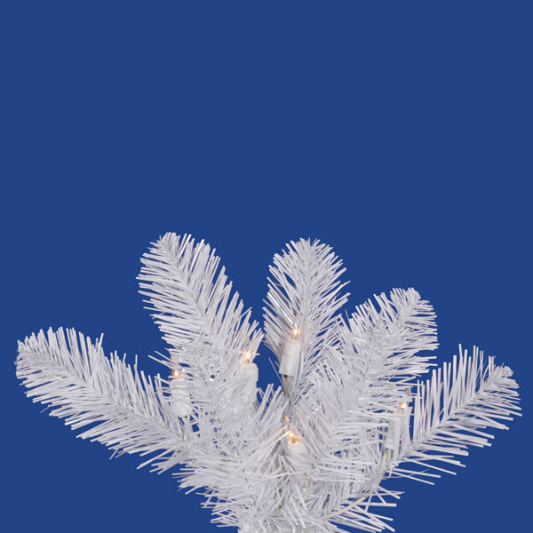 8.5 ft. x 39 in. White Christmas Tree Image