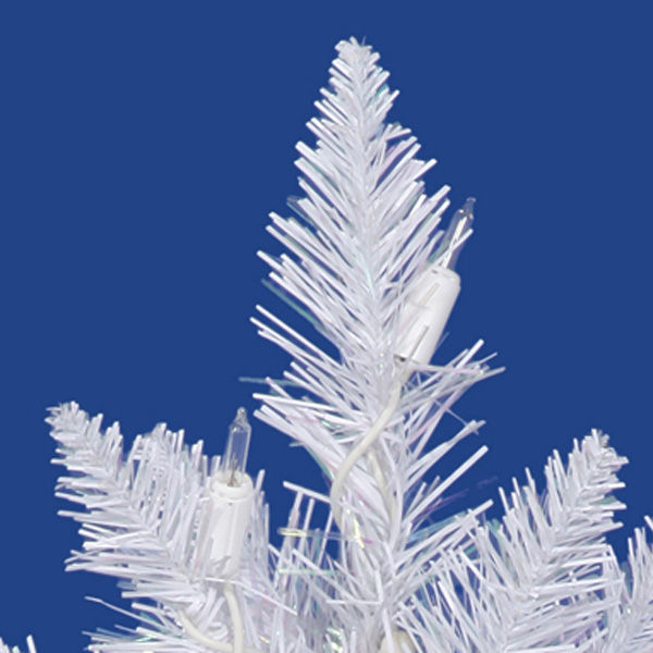 5 ft. x 24 in. White Christmas Tree Image