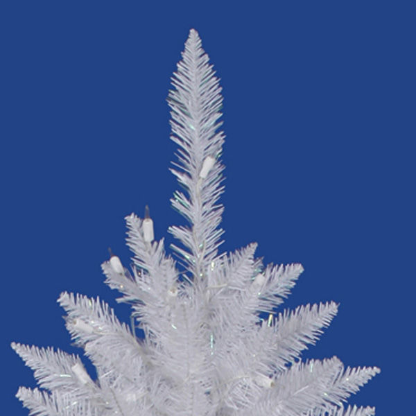 7.5 ft. x 51 in. White Christmas Tree Image