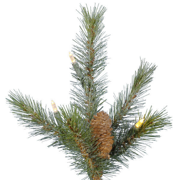15 ft. x 102 in. Frosted Christmas Tree Image
