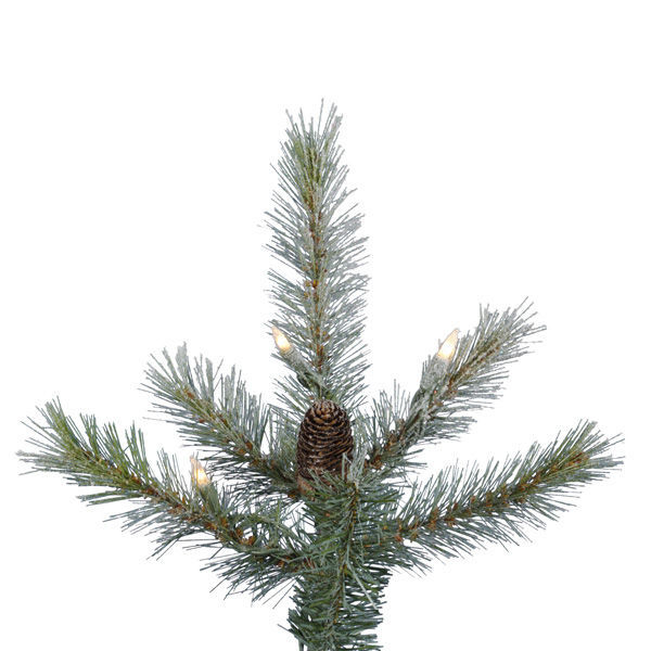 4.5 ft. x 39 in. Frosted Christmas Tree Image