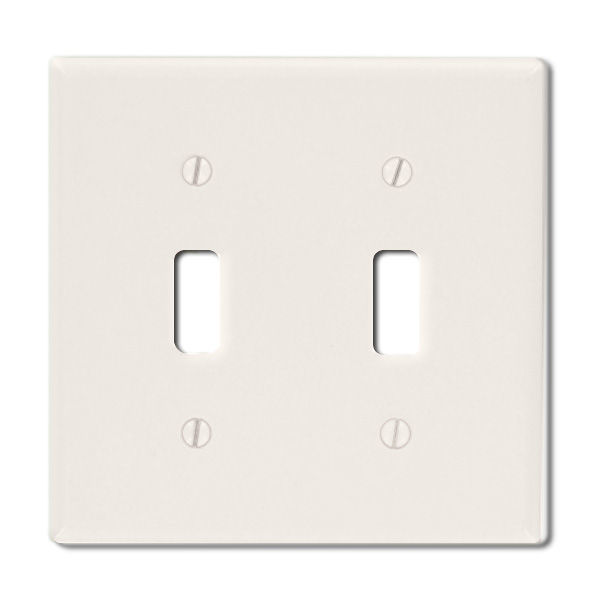 Toggle Wall Plate - Light Almond - 1 Gang Image