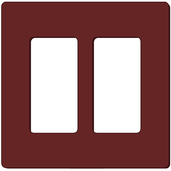 Leviton Decora 80309-S0 - Brown Image