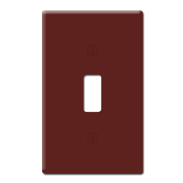 Leviton 85001 - Wallplate - Brown Image