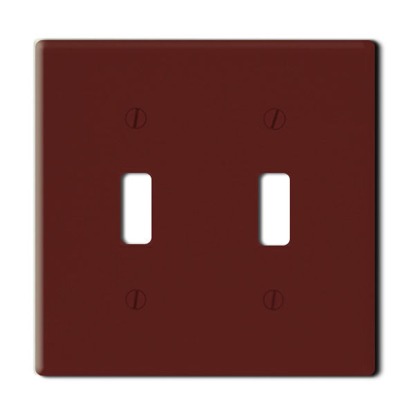 Leviton 85009 - Wallplate - Brown Image