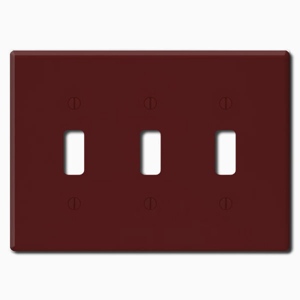 Leviton 85011 - Wallplate - Brown Image