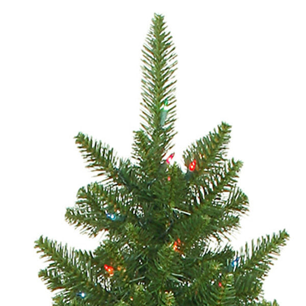 String Lights On Artificial Christmas Tree : 7.5 ft. - Camdon Fir - Vickerman