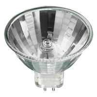 50 Watt - MR16 - SoLux - 4100 Kelvin - EXZ Narrow Flood - Glass Face - 4,000 Life Hours - Full Spectrum - 3,263 Candlepower - 12 Volt