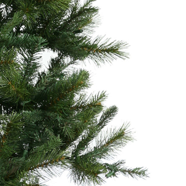 6.5 ft. Artificial Potted Oneco Half Christmas Tree Image
