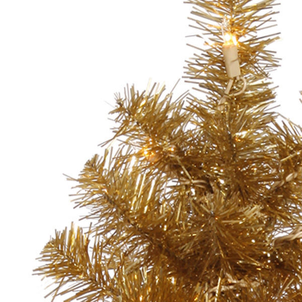 2 ft. x 11 in. Gold Christmas Tree Image