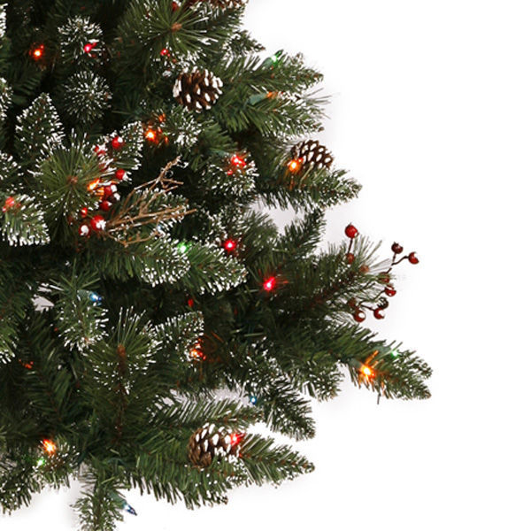 9 ft. x 51 in. Frosted Christmas Tree Image