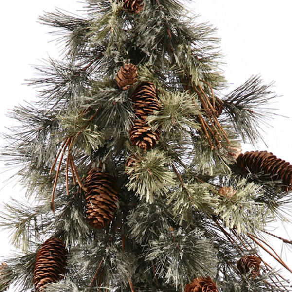 2.5 ft. Artificial Half Wall Christmas Tree Image