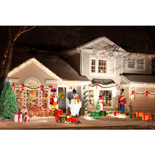 christmas decoration 63 ft toy soldier image
