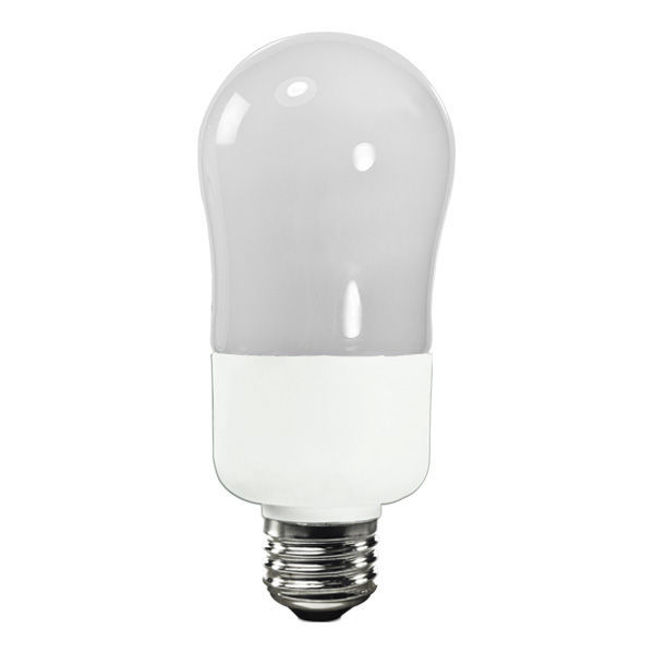 A19 CFL - 15 Watt - 60W Equal - 3000K Halogen White Image