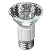 75 Watt - MR16 - 50 deg. Wide Flood - Medium Base - 120 Volt - Glass Face - 2,000 Life Hours