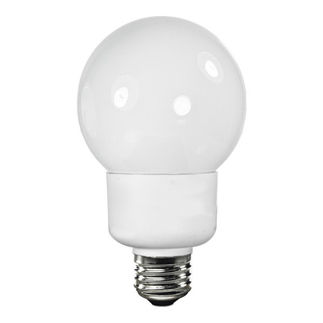 15W - Dimmable - G25 - 2700K - 60W Equal - 24 Mo. Warranty