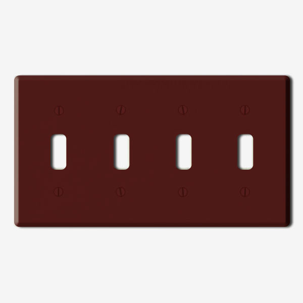 Leviton 85012 - Wallplate - Brown Image