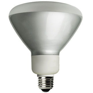 Dimmable - 16 Watt - R40 CFL - 65 W Equal - 4100K Cool White
