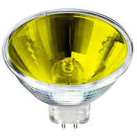 50 Watt - MR16 - Yellow - FNC - Spot - 4,000 Life Hours - 12 Volt