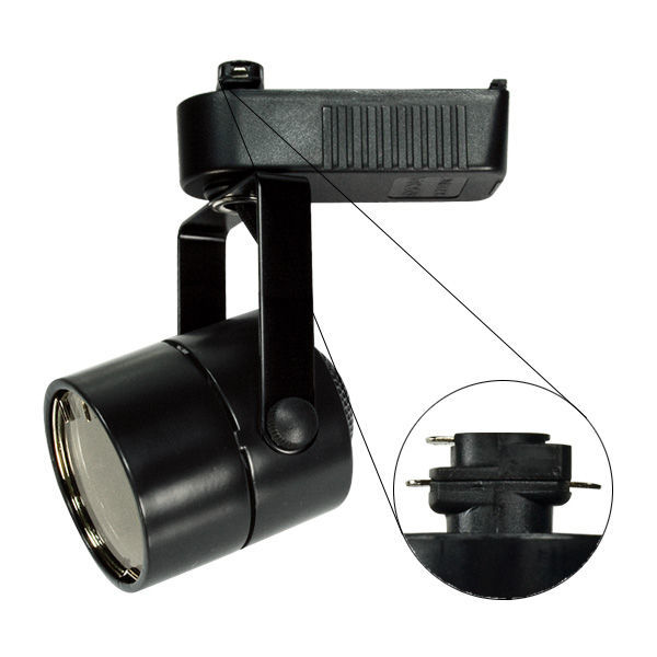PLT PTL203B - Cylinder Low Voltage Track Fixture - Black Image