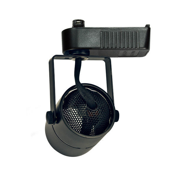 Nora NTL-203B - Cylinder Low Voltage Track Fixture - Black Image